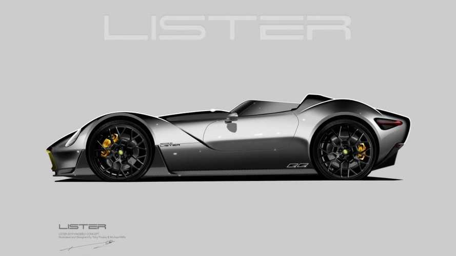 Lister Knobbly concept previewed as a futuristic retro speedster
