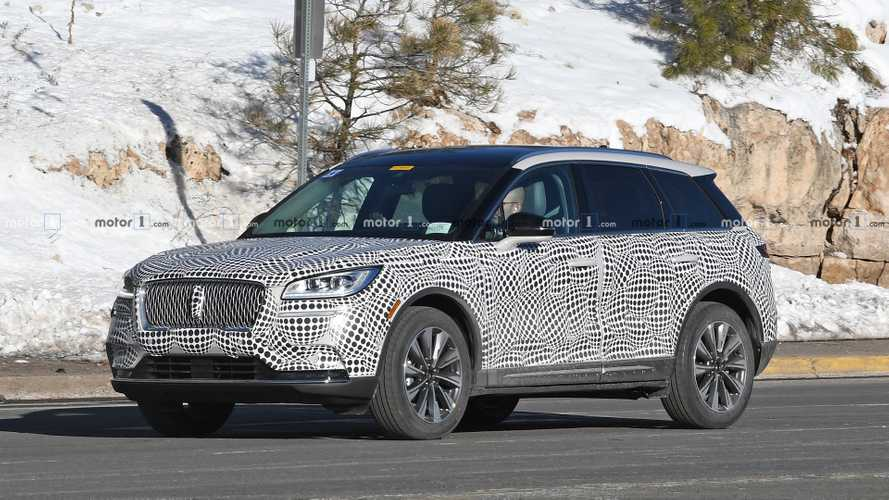 2020 Lincoln Corsair Crossover Drops Heavy Camo In Colorado