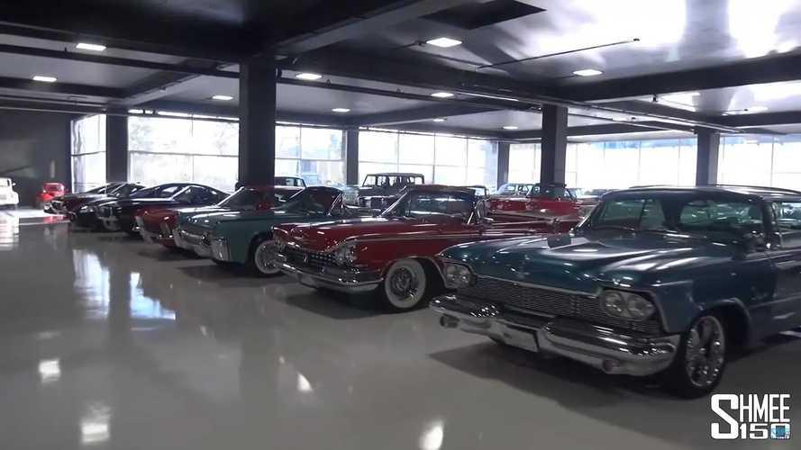 Secret car collection in Mexico