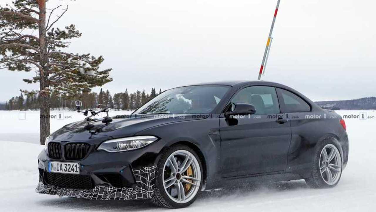 BMW M2 CS Spy 2020 Photo