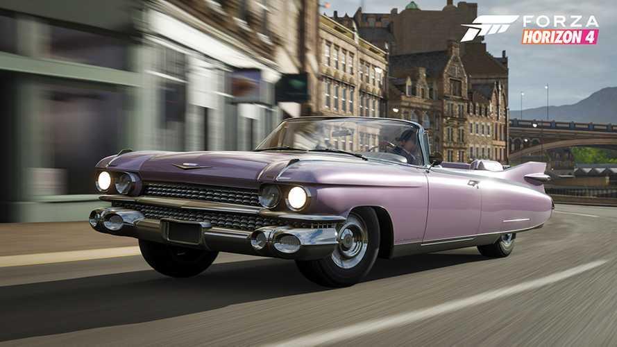 Forza Horizon 4 gains Cadillac Eldorado, TVR Griffith