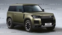 MO Land Rover Defender rendering