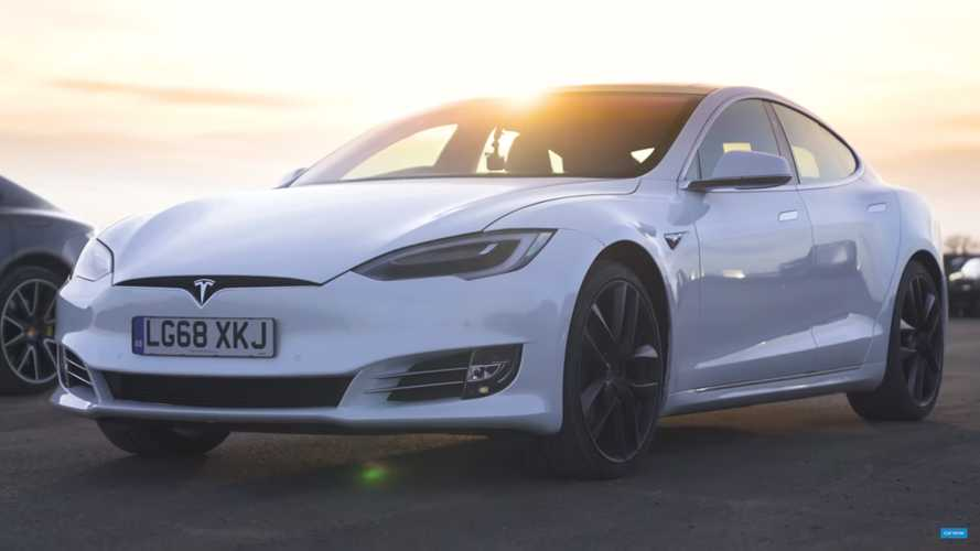 Tesla electric cars dominate 0-60 mph, but I-Pace time might surprise