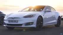 Tesla Model S P100D Drag Race