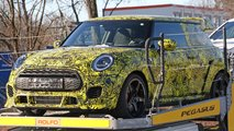 Mini Hardtop John Cooper Works GP Spy Shots
