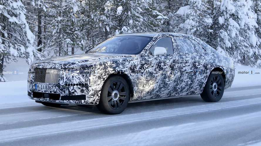 Next-Gen Rolls-Royce Ghost Spied In Snowy Weather [UPDATE]
