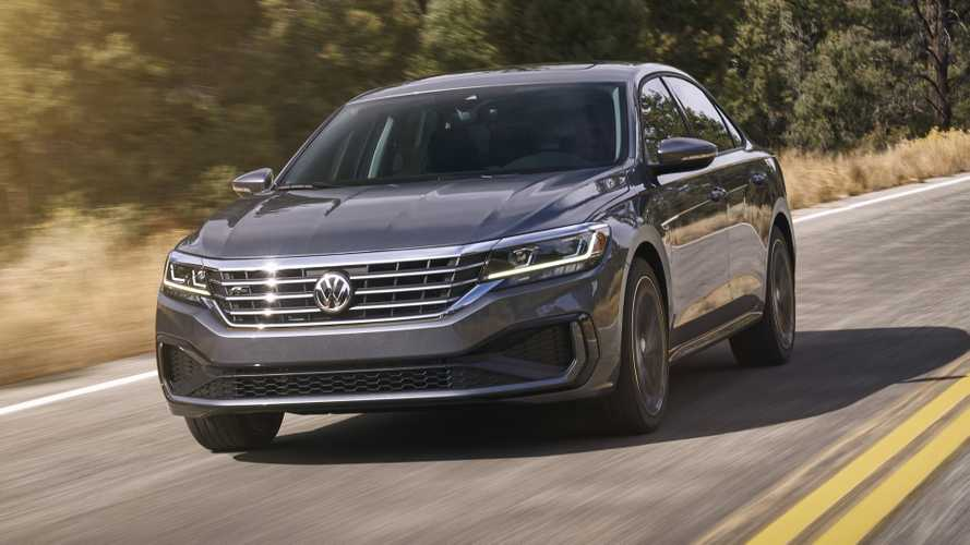 2020 VW Passat for U.S. arrives in Detroit with fresh look