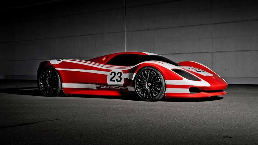 Un magnifique concept pour les 50 ans de la Porsche 917