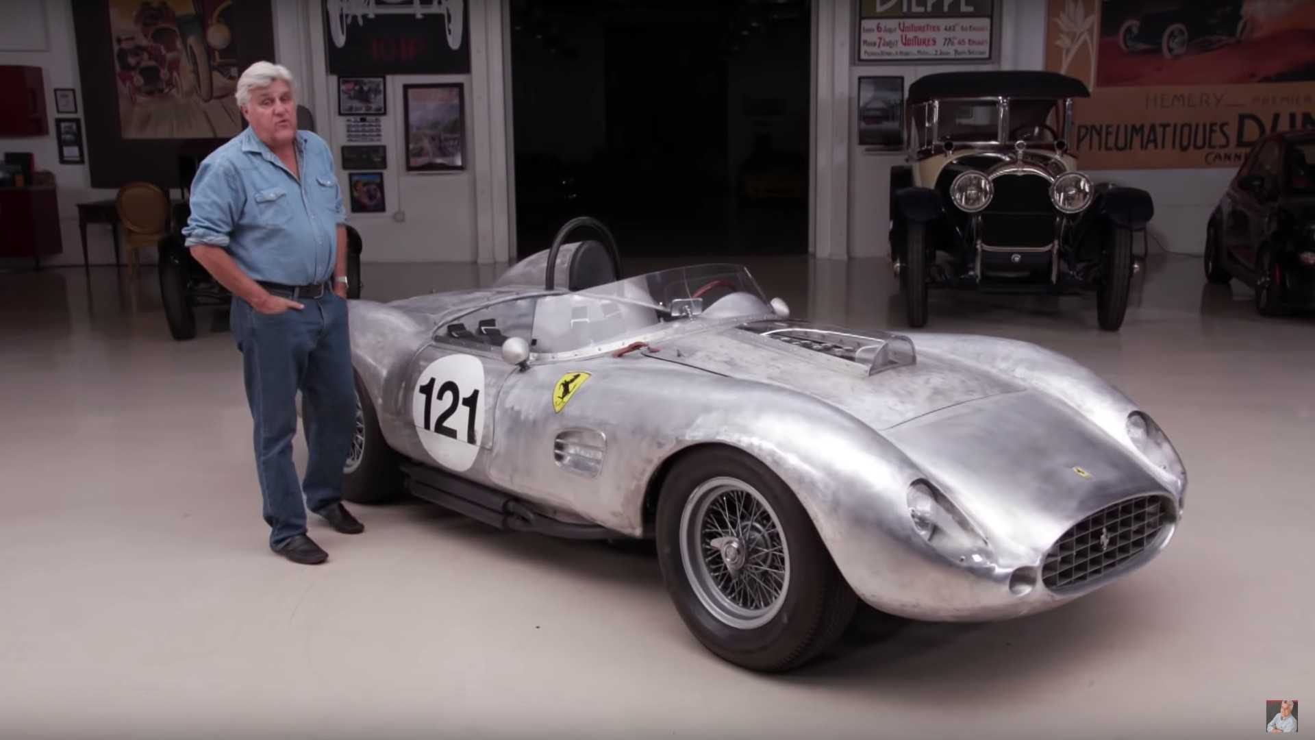 Jay Leno Drives A 1959 Ferrari 250 Tr Replica Motorious