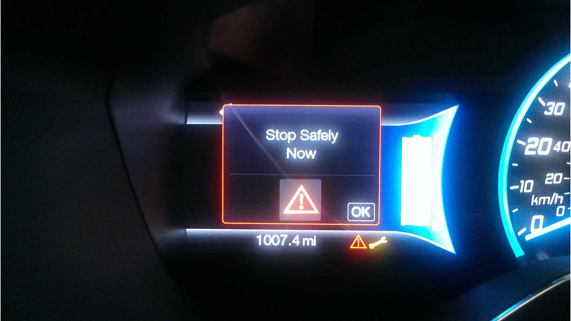 Open Letter From Owner About Focus Electric Drive Failure And The Stop Safely Now Warning