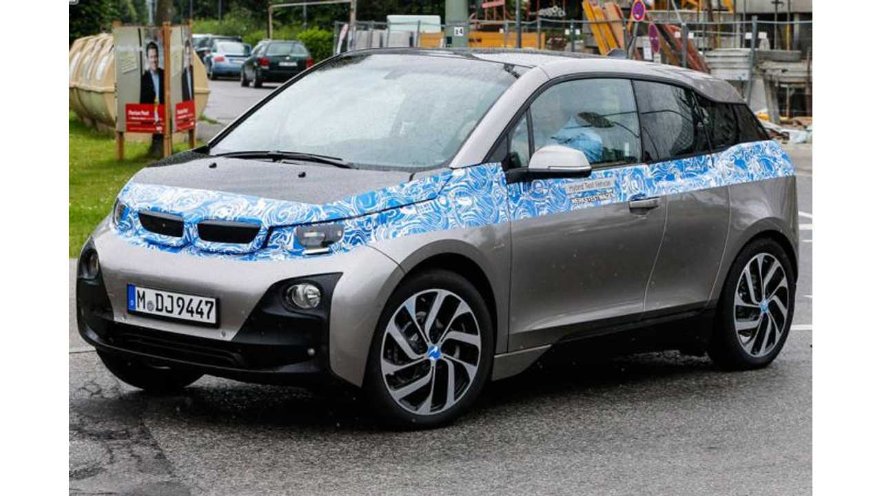 BMW i3 - Practically Unveiled Before The Uh...Unveiling