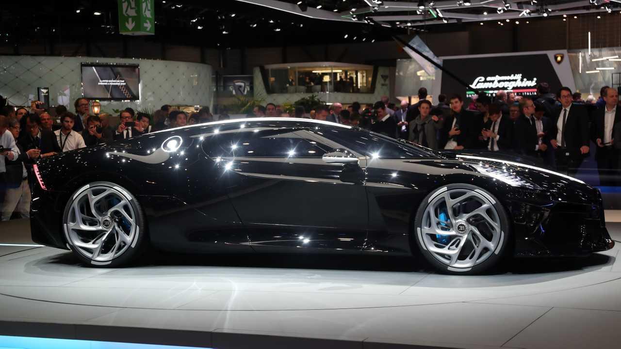 Bugatti La Voiture Noire: Geneva Live
