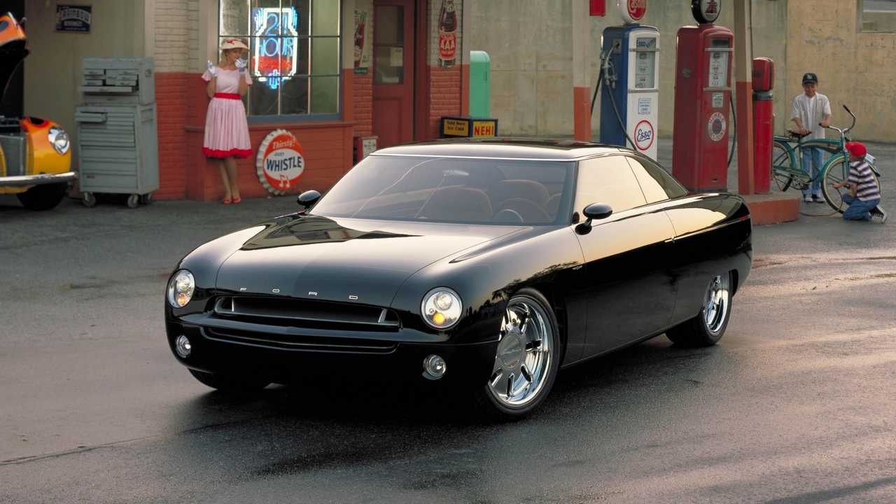 2001 Ford Forty-Nine concept sedan