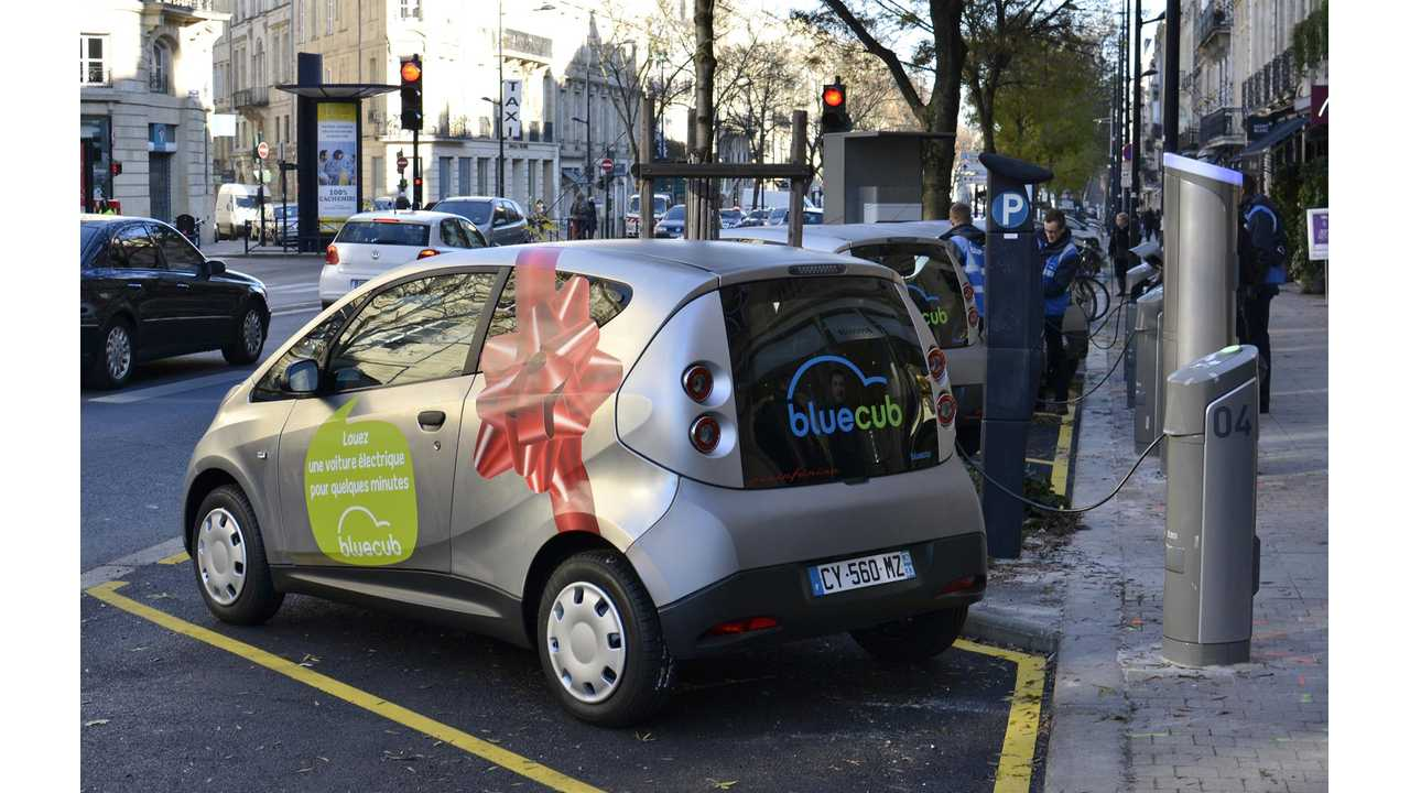 Bolloré Launches Bluecub Carsharing Service in Bordeaux, France