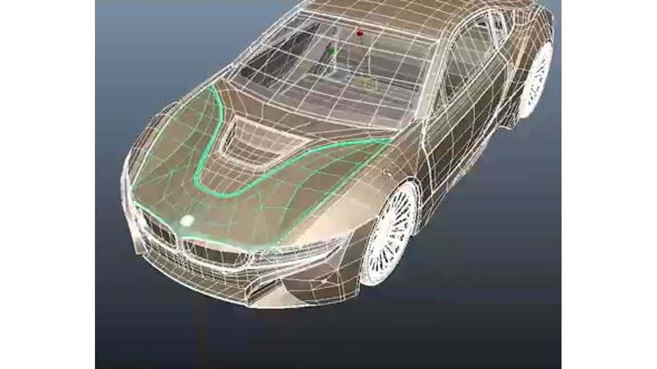 Video: BMW i8 3D Modeling Time Lapse