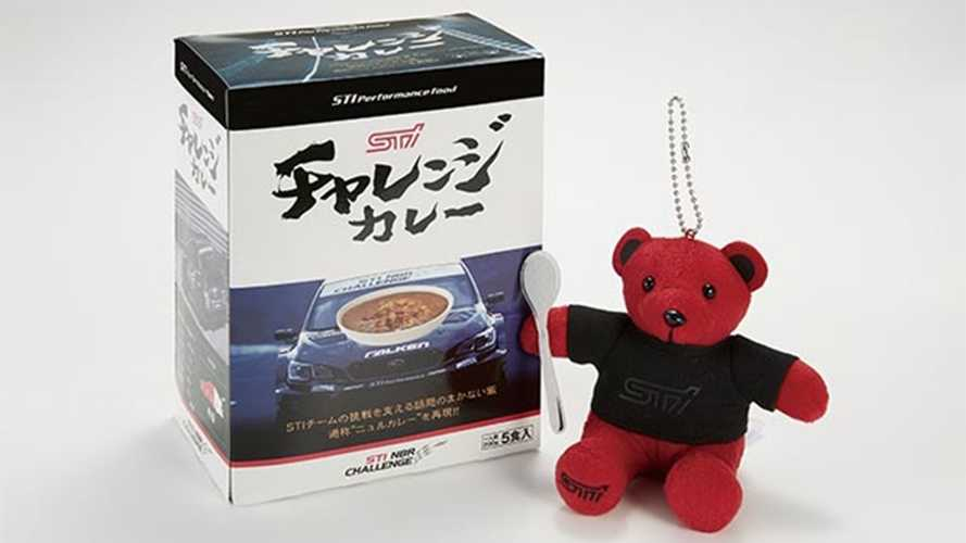 Subaru Celebrates STI's 30th Year With Curry And Teddy Bear?
