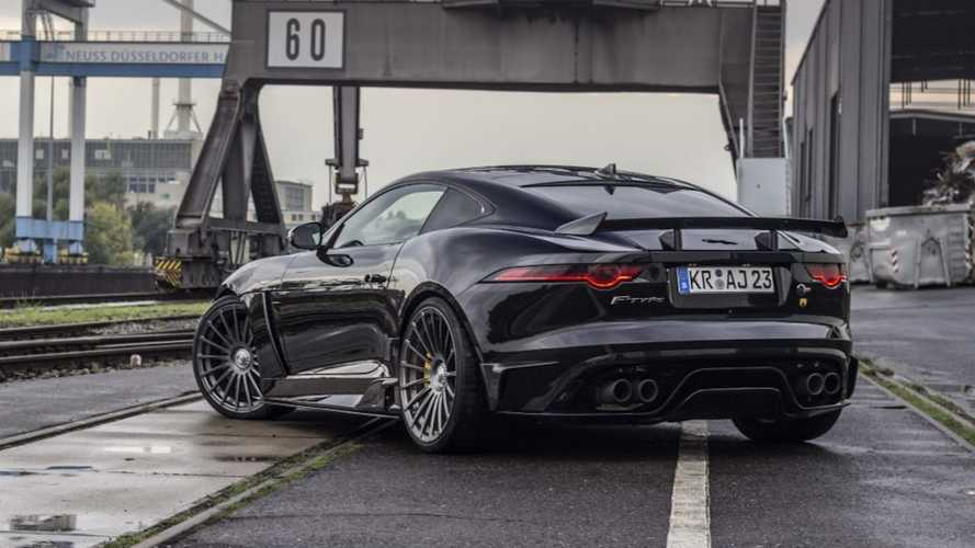 703-bhp Arden AJ 23 is Jaguar F-Type SVR on steroids