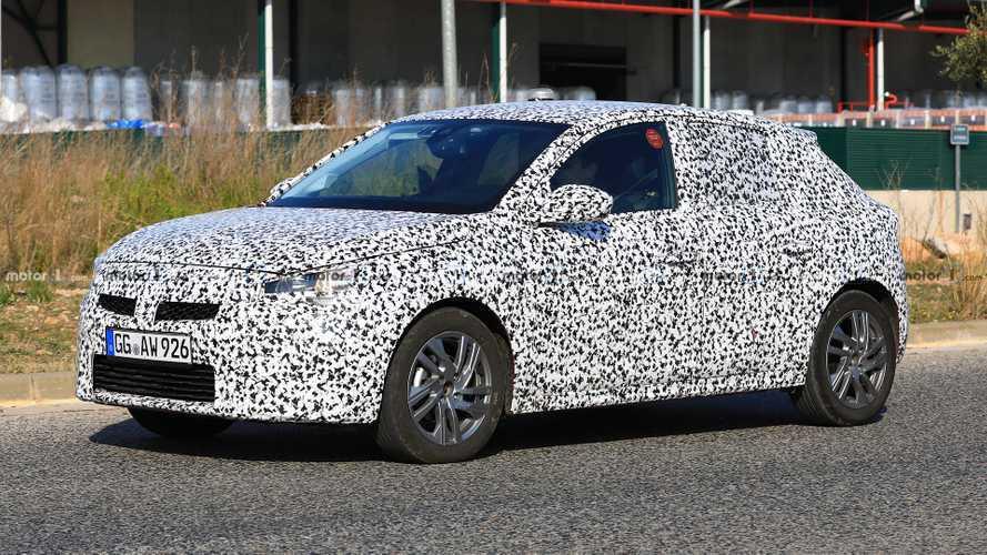 La nouvelle génération d'Opel Corsa au régime