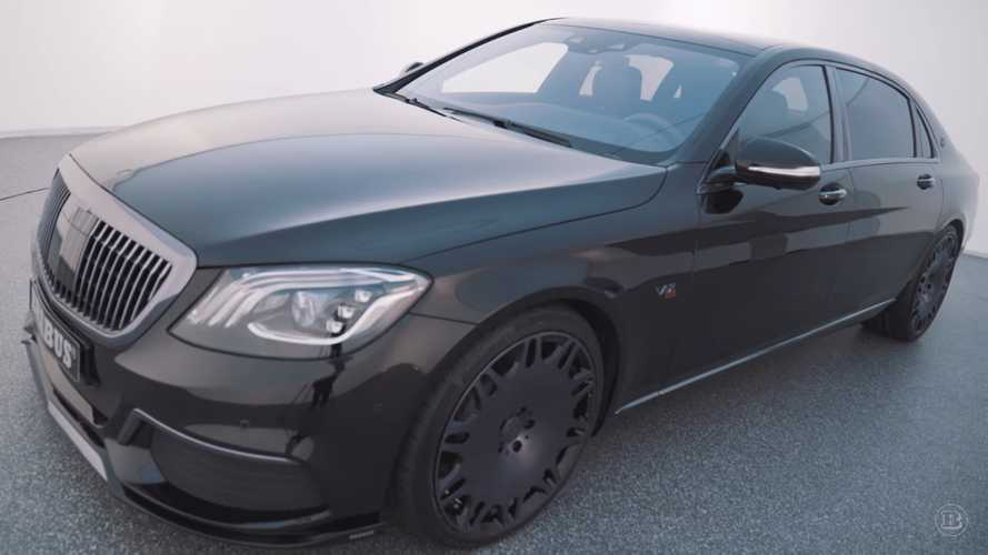 Brabus previews epic 888-bhp Maybach S650 ahead of Geneva