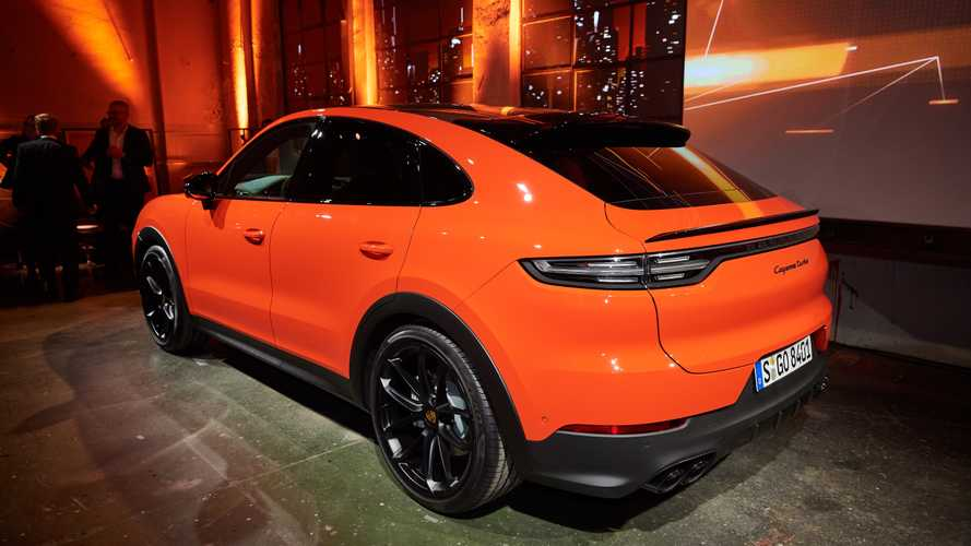 Porsche Cayenne Coupe Shows Unusual Shape In Videos, Live Pics