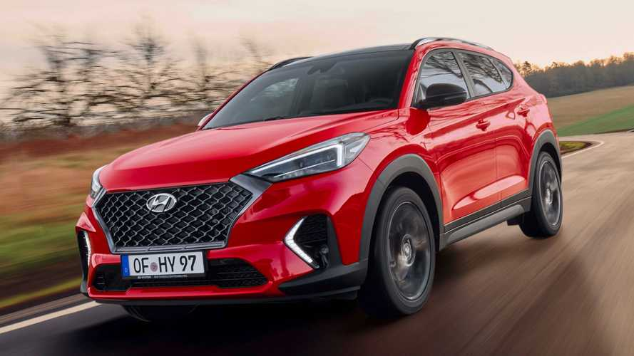Hyundai Tucson N Line Revealed With Styling, Mechanical Tweaks