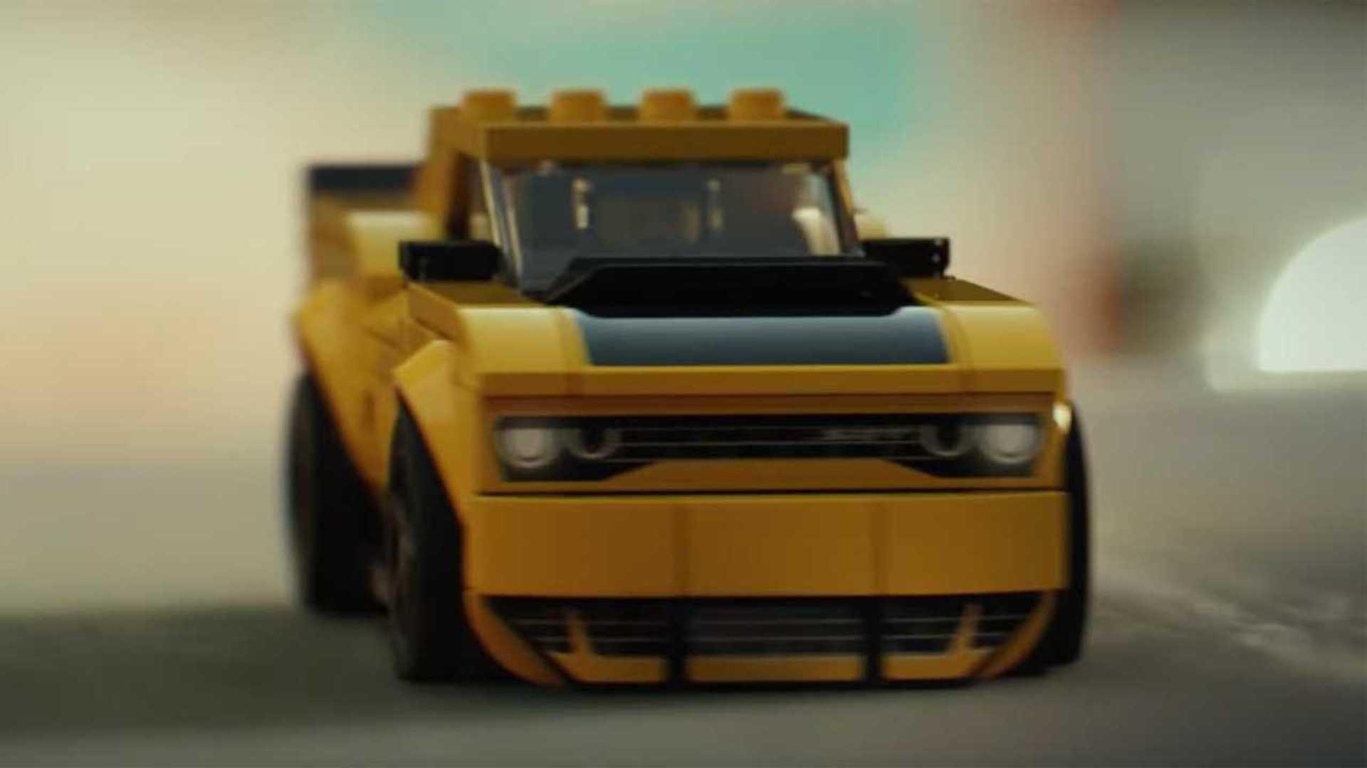 Dodges Cute Lego Car Ad Marks Debut Of New Challenger Set