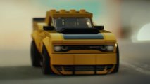 Lego Dodge Challenger and Charger Ad