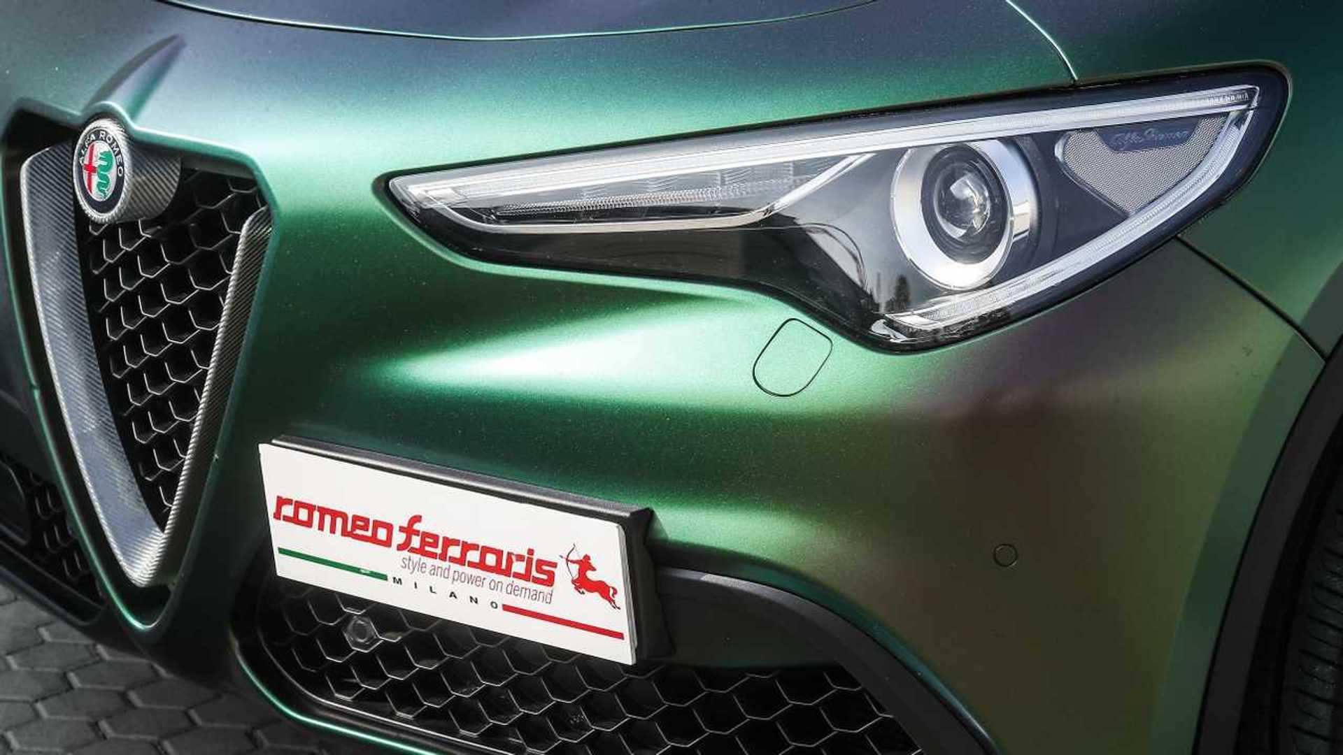 Tuned Alfa Romeo Stelvio Quadrifoglio Has 548 Bhp Wild Body Wrap