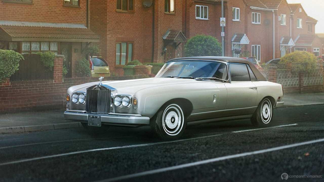 Rolls-Royce Classic Sports Car
