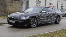 BMW M850i Gran Coupé (2019) verliert an Tarnung