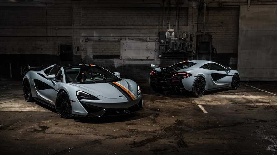 McLaren Special Operations debuts Racing Through the Ages Collection