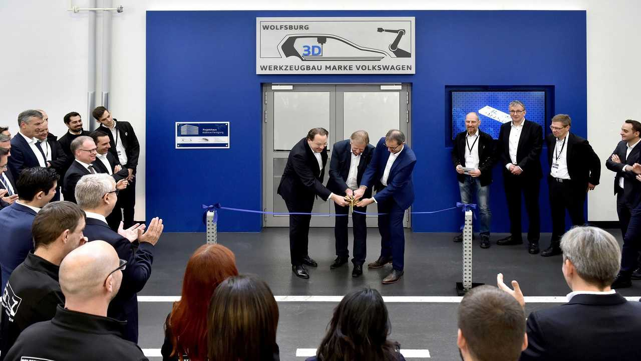 Volkswagen Toolmaking opens highly advanced 3-D printing center