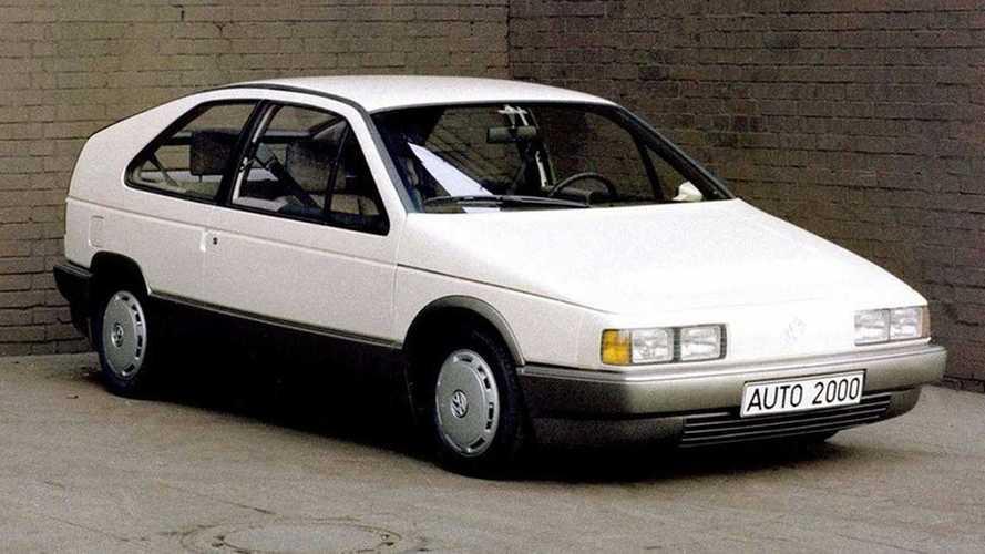 Unuttuğumuz Konseptler: 1981 VW Auto 2000