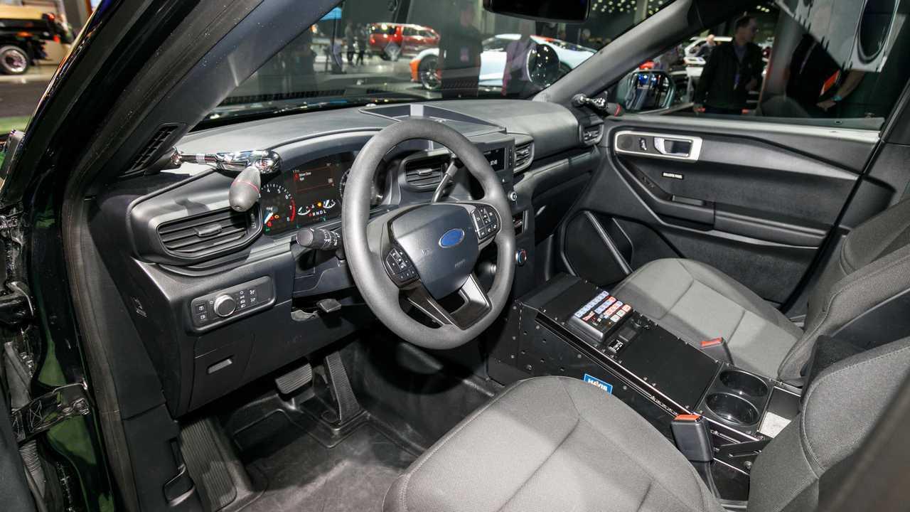 2020-as Ford rendőrségi interkeptor NAIAS Live