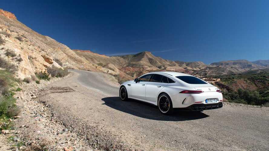 Mercedes-AMG officialise l'arrivée d'une GT Coupé 4 portes hybride rechargeable