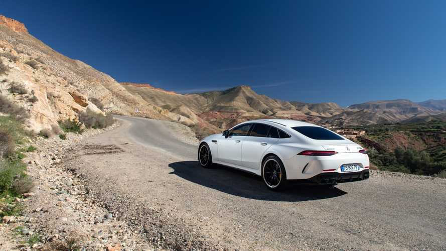 Mercedes-AMG confirma la llegada de un GT Coupé 4 puertas... ¡híbrido!