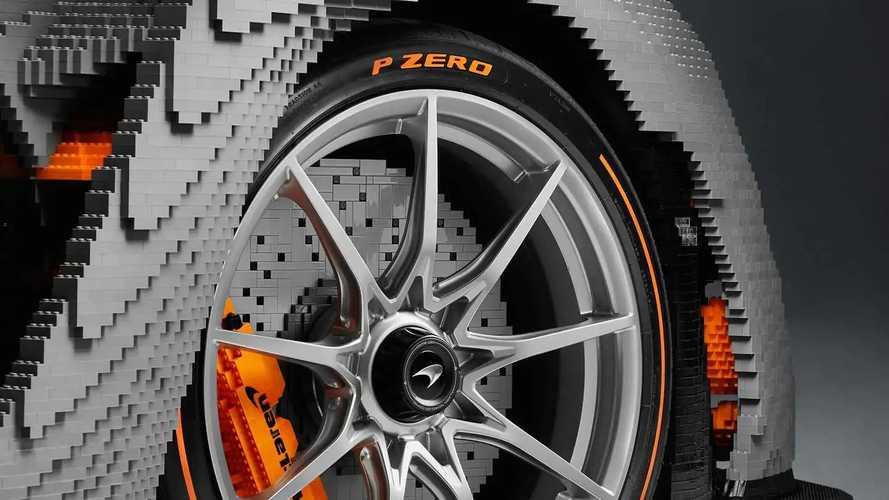 McLaren Senna Fullsize Lego