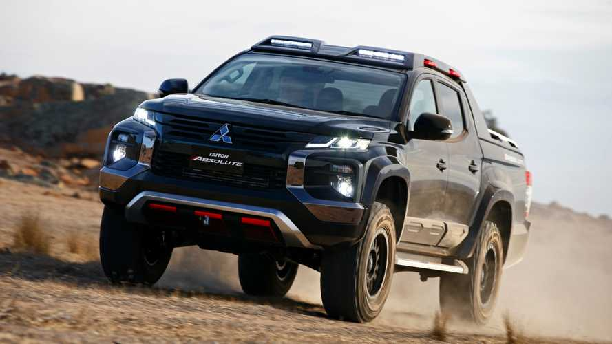 Mitsubishi Triton Absolute Debuts As Ford Ranger Raptor Rival
