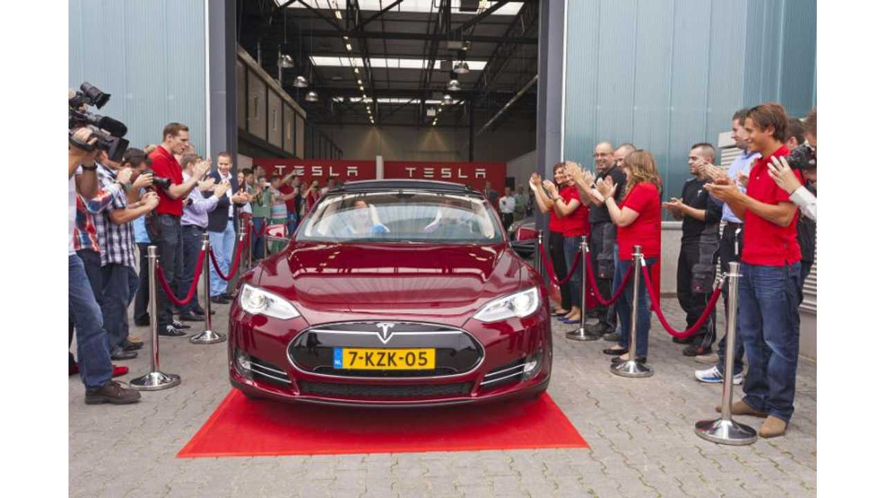 Tesla Motors Opens Final Assembly Facility in the Netherlands (videos)