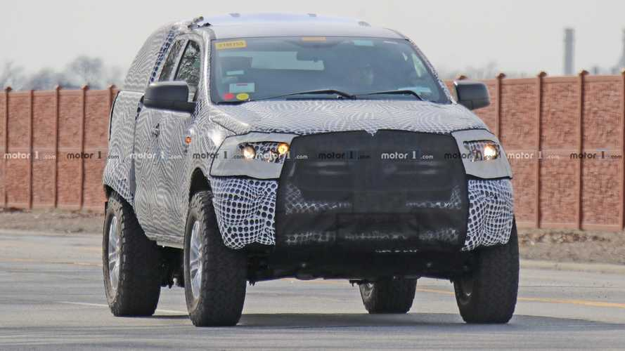 Ford Bronco Mule Spy Photos