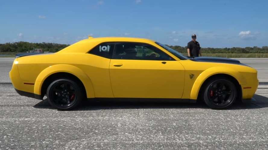 Watch Dodge Demon Go Like Hell And Hit 211 MPH