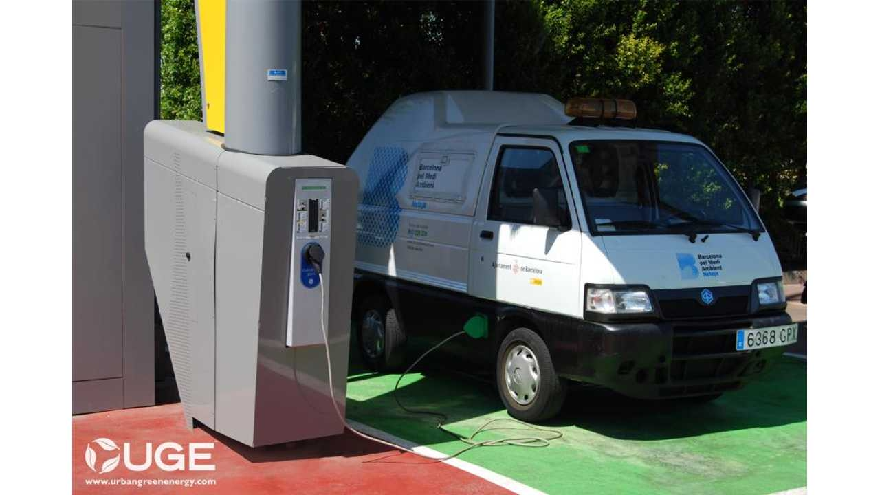 First Wind Powered EV Charger From Sanya Installed In Barcelona, Spain (VIDEO)