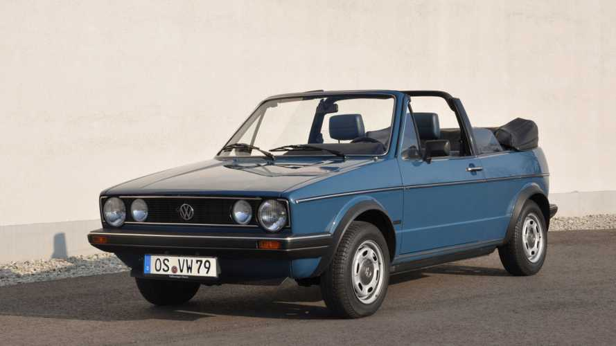 VW Is Celebrating 40 Years Of Golf Cabriolets, As Should You