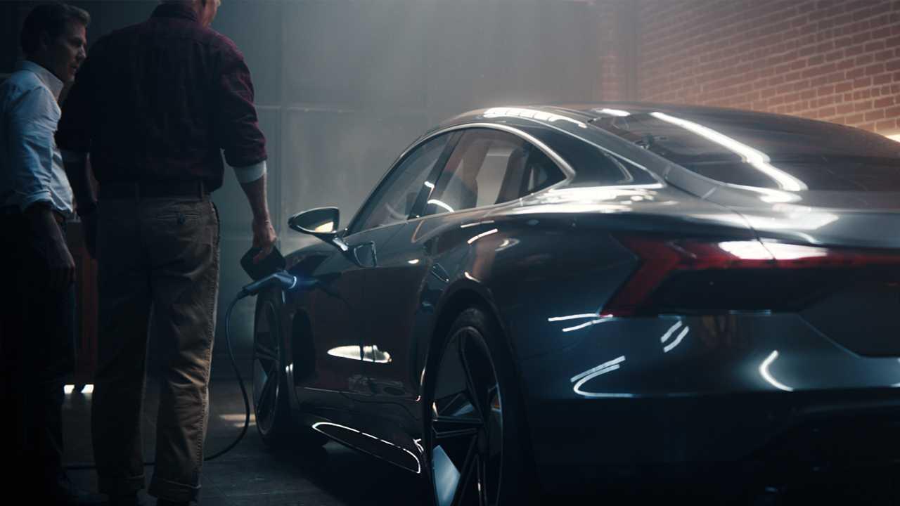 4607a5e4a9 Audi E-Tron GT Super Bowl Commercial Is A Heavenly Experience