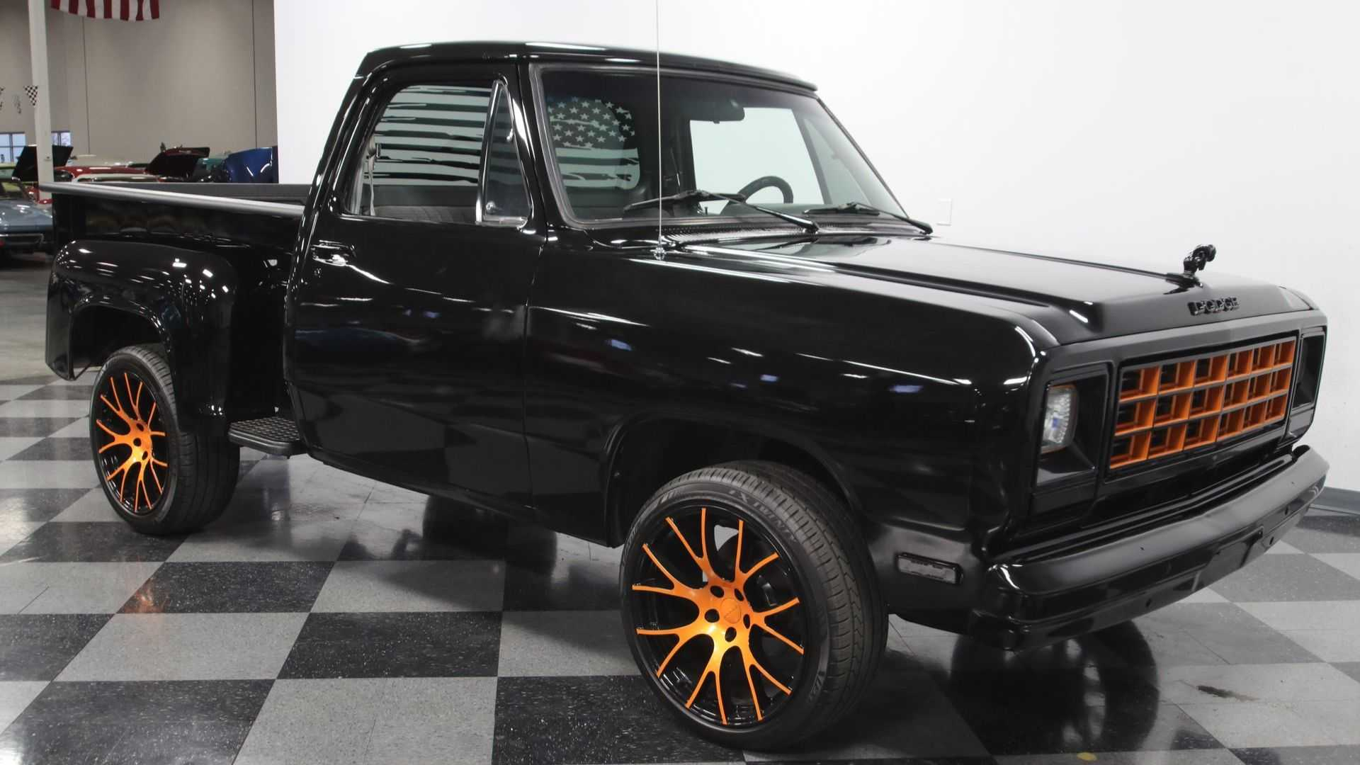 Cruise Around Town In Style With This 1984 Dodge D150