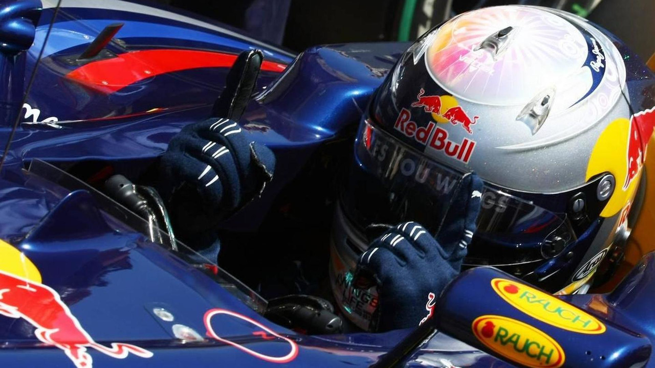 Sebastian Vettel (GER), Red Bull Racing gets pole position, European Grand Prix, 26.06.2010 Valencia, Spain