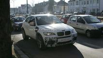 BMW X6 M in white spy photos