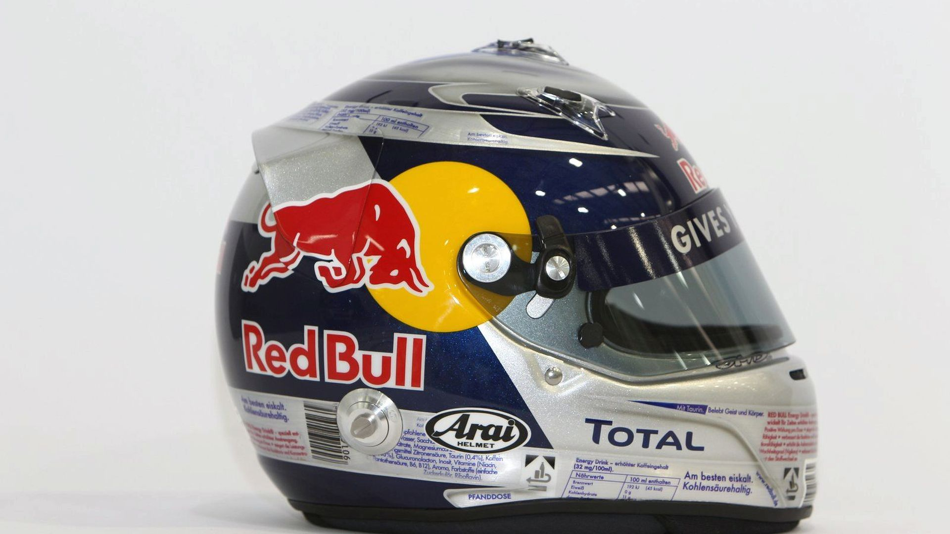 ffd68fcba Vettels helmet resembles red bull drink can jpg 1920x1080 Red bull energy  helmet