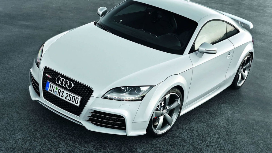 Audi TT RS gets 7-speed DSG gearbox