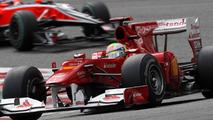 Felipe Massa (BRA), Scuderia Ferrari leads Timo Glock (GER), Virgin Racing - Formula 1 World Championship, Rd 13, Belgium Grand Prix